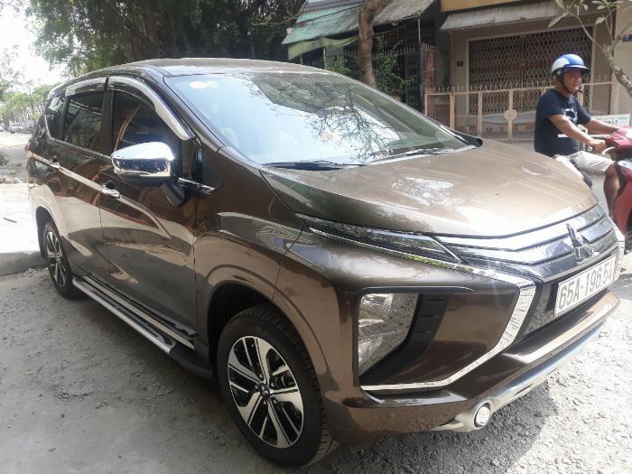 Mitsubishi Xpander 2019 Tự động màu nâu xe gia đình