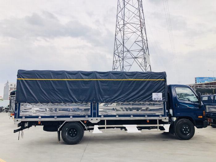 Giá Xe tải Hyundai New mighty 110SL. Tải trọng 7 tấn. Thùng dài 5m7, hổ trợ trả góp 70 - 90% 6