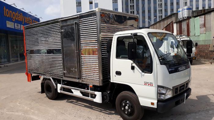 Isuzu QKR sản xuất năm 2019 Số tay (số sàn) Xe tải động cơ Dầu diesel