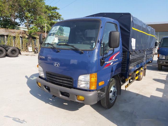 Xe Tải Hyundai 2,4 Tấn (New mighty N250SL). Thùng Bạt Bửng Nâng 1