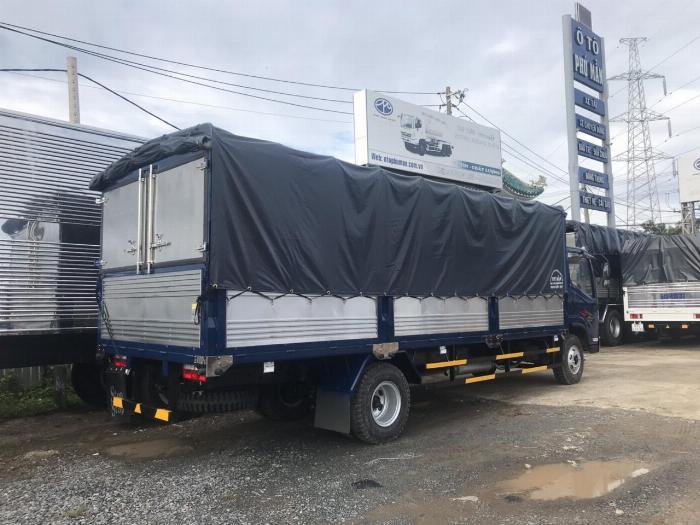 faw 8 tấn thùng dài 6m25