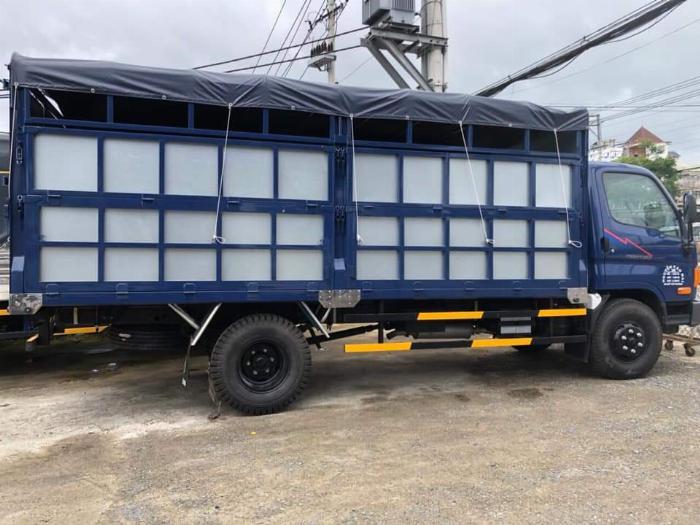 Xe tải Hyundai 8 tấn( Ga cơ mạnh mẹ) . Thùng chở gạch 0
