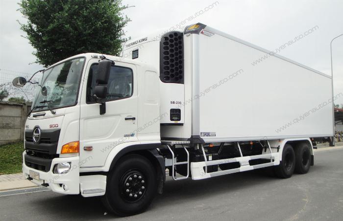 Giá xe tải Hino FL ( Thùng Đông Lạnh Quyền ). Tải 15 tấn 1