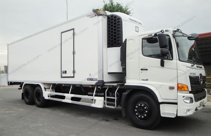 Giá xe tải Hino FL ( Thùng Đông Lạnh Quyền ). Tải 15 tấn 4