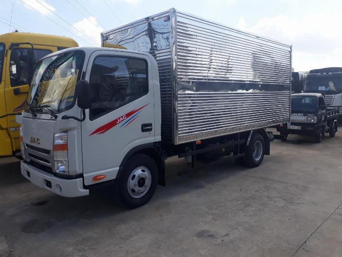 xe tải jac 1 tấn 9 thùng 4m3 giá tốt hỗ trợ trả góp toàn quốc