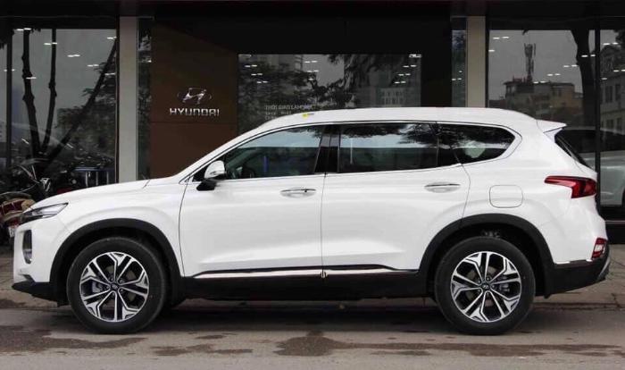 Hyundai Santafe 2020, đủ màu giao ngay 5