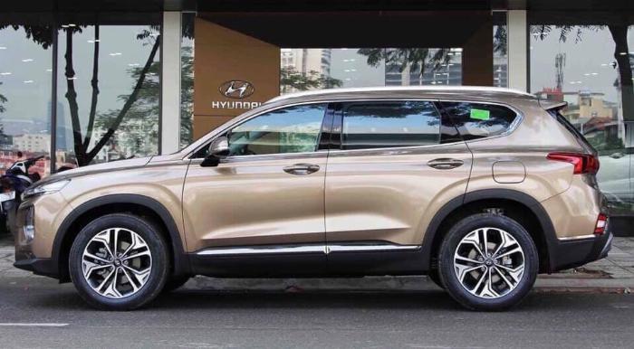 Hyundai Santafe 2020, đủ màu giao ngay 7