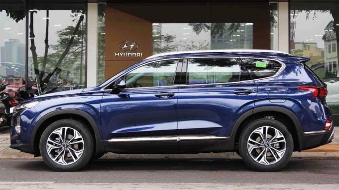 Hyundai Santafe 2020, đủ màu giao ngay 8