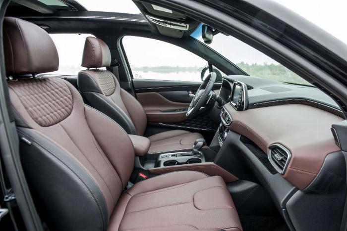 Hyundai Santafe 2020, đủ màu giao ngay 18