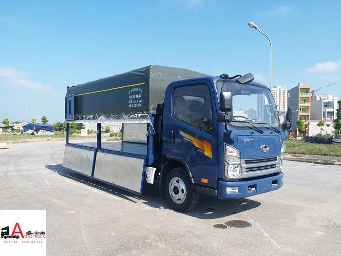 Xe tải Teraco 240L Động cơ Isuzu chuẩn Nhật Bản 2