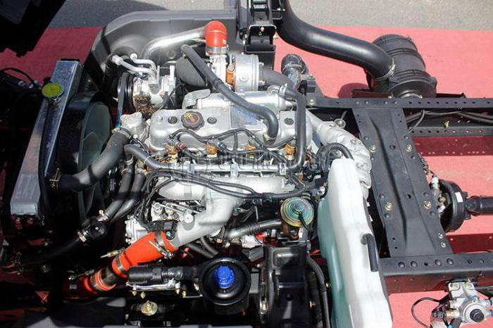 Xe tải Teraco 240L Động cơ Isuzu chuẩn Nhật Bản 9