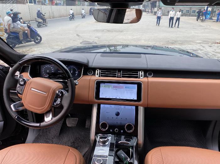 Bán LandRover Range Rover LWB P400e,đăng ký 2019, màu đen,mới 99,9%,giá cực tốt. 6