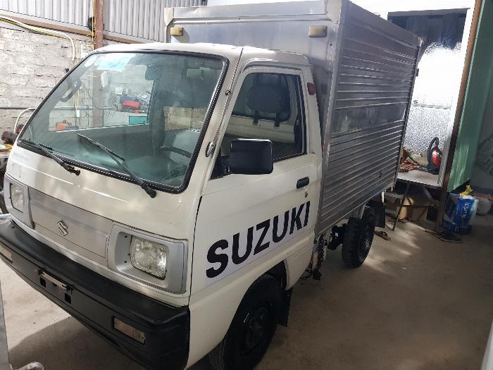 xe tải suzuki cũ 5 tạ ( 500kg) thùng kín đời 2014 Hải Phòng Nam Định Thái Bình Quảng Ninh 3