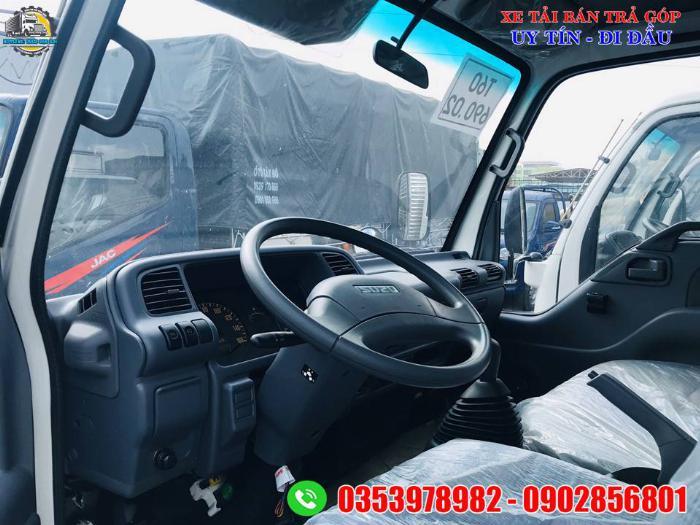 xe tải isuzu 1.9 tấn thùng dài 6 mét, giá xe tải thùng dài 0