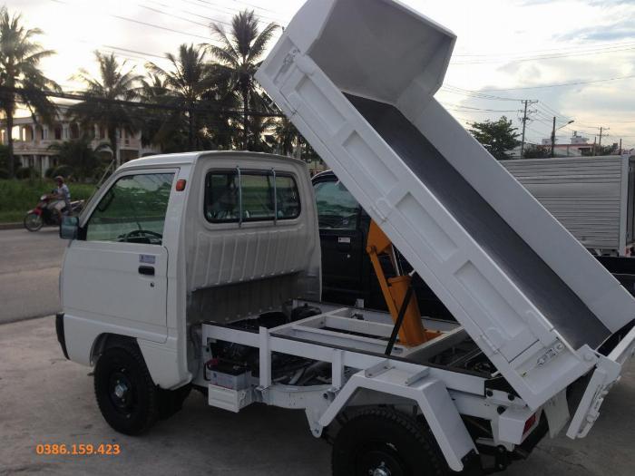 Xe ben suzuki 500kg , xe suzuki tải 500kg | suzuki carry truck. 1