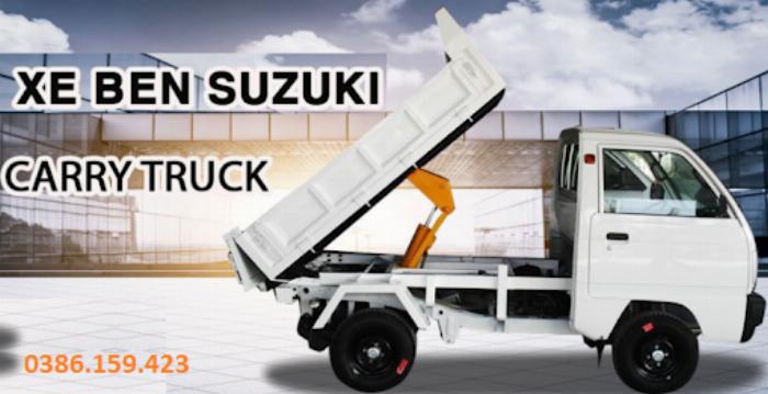 Xe ben suzuki 500kg , xe suzuki tải 500kg | suzuki carry truck. 0