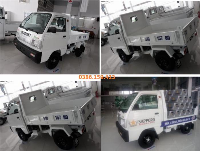 Xe ben suzuki 500kg , xe suzuki tải 500kg | suzuki carry truck. 3