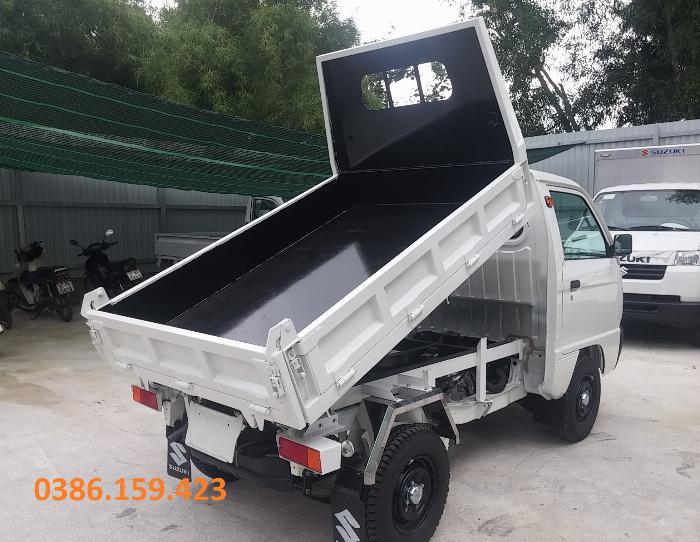 Xe ben suzuki 500kg , xe suzuki tải 500kg | suzuki carry truck. 4