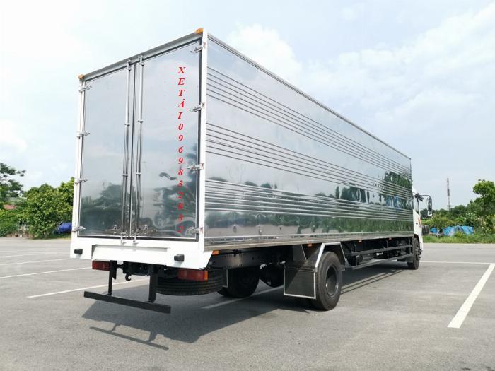 Báo giá xe tải Dongfeng B180 8 - 9 Tấn thùng bạt, Thùng kín 7,5m và 9,5m, có xe giao ngay, cam kết giá tốt nhất 12