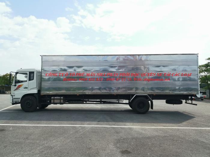 Báo giá xe tải Dongfeng B180 8 - 9 Tấn thùng bạt, Thùng kín 7,5m và 9,5m, có xe giao ngay, cam kết giá tốt nhất 11