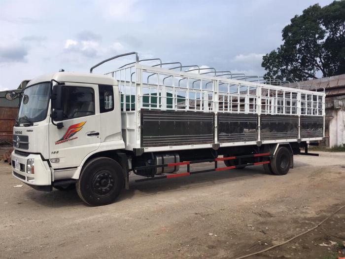 Báo giá xe tải Dongfeng B180 8 - 9 Tấn thùng bạt, Thùng kín 7,5m và 9,5m, có xe giao ngay, cam kết giá tốt nhất 10