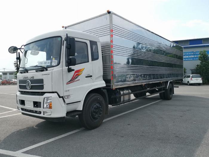 Báo giá xe tải Dongfeng B180 8 - 9 Tấn thùng bạt, Thùng kín 7,5m và 9,5m, có xe giao ngay, cam kết giá tốt nhất 14
