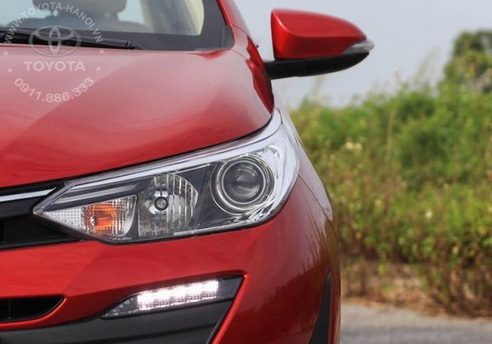 Bán Toyota Vios 1.5G màu đỏ, xe giao ngay, giá Tốt nhất Miền Bắc, Hỗ trợ trả góp 80% 11