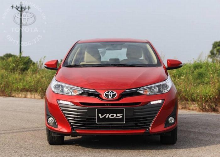 Bán Toyota Vios 1.5G màu đỏ, xe giao ngay, giá Tốt nhất Miền Bắc, Hỗ trợ trả góp 80% 16