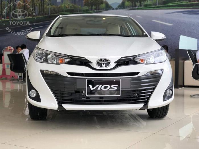 Bán Toyota Vios 1.5G màu đỏ, xe giao ngay, giá Tốt nhất Miền Bắc, Hỗ trợ trả góp 80% 9