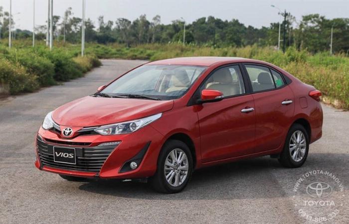 Bán Toyota Vios 1.5G màu đỏ, xe giao ngay, giá Tốt nhất Miền Bắc, Hỗ trợ trả góp 80% 17