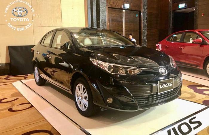 Bán Toyota Vios 1.5G màu đỏ, xe giao ngay, giá Tốt nhất Miền Bắc, Hỗ trợ trả góp 80% 10