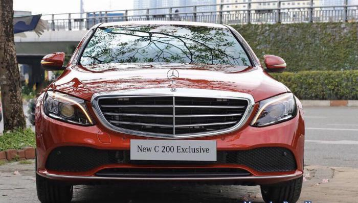 Mercedes C200 Exclusive - Ưu Đãi Lên Đến 100 Triệu 5