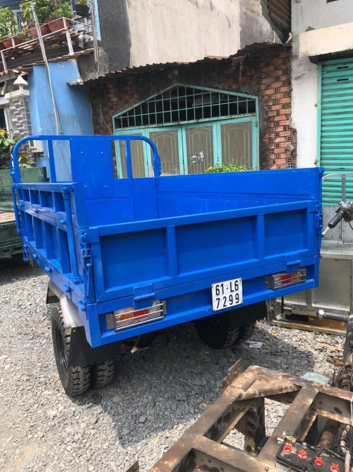 Bán xe lôi ba bánh Nam Định T&T FHUSHI DA chính hãng 1