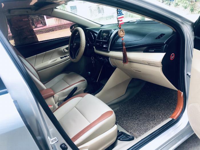 G.đình cần bán Toyota Vios 1.5E, 2014 1