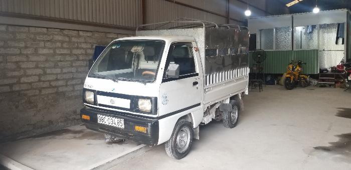 xe tải suzuki cũ thùng mui bạt đời 2007 Hải Phòng Nam Định Thái Bình Quảng Ninh 3