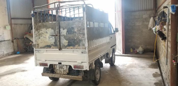 xe tải suzuki cũ thùng mui bạt đời 2007 Hải Phòng Nam Định Thái Bình Quảng Ninh 2