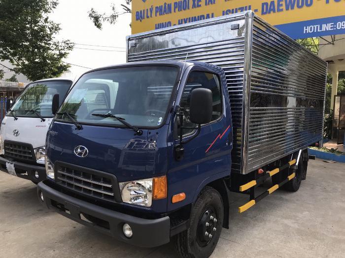 Giá xe tải Hyundai New Mighty 75S thùng mui bạt 3,5 tấn bảo hành 5 năm 6