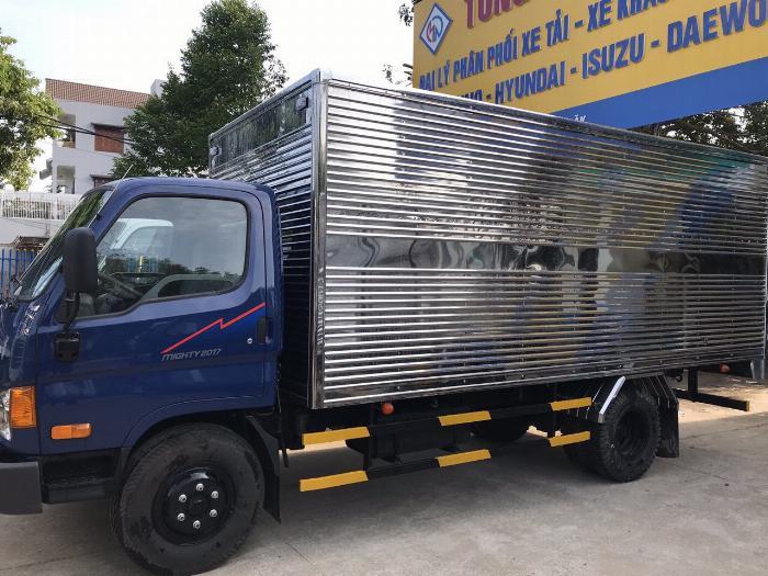 Giá xe tải Hyundai New Mighty 75S thùng mui bạt 3,5 tấn bảo hành 5 năm 12