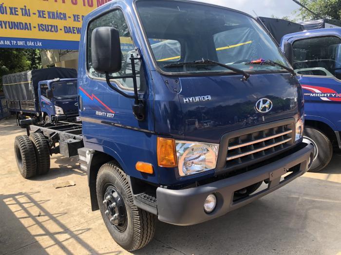 Giá xe tải Hyundai New Mighty 75S thùng mui bạt 3,5 tấn bảo hành 5 năm 5