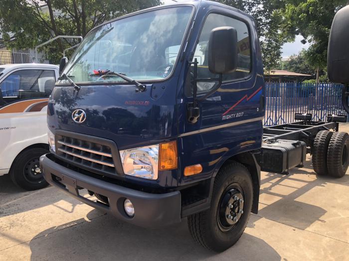 Giá xe tải Hyundai New Mighty 75S thùng mui bạt 3,5 tấn bảo hành 5 năm 13