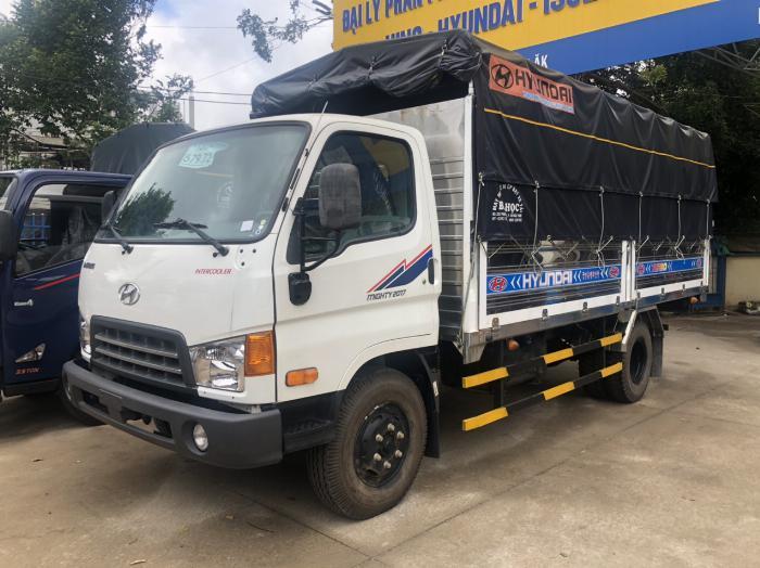 Giá xe tải Hyundai New Mighty 75S thùng mui bạt 3,5 tấn bảo hành 5 năm 14
