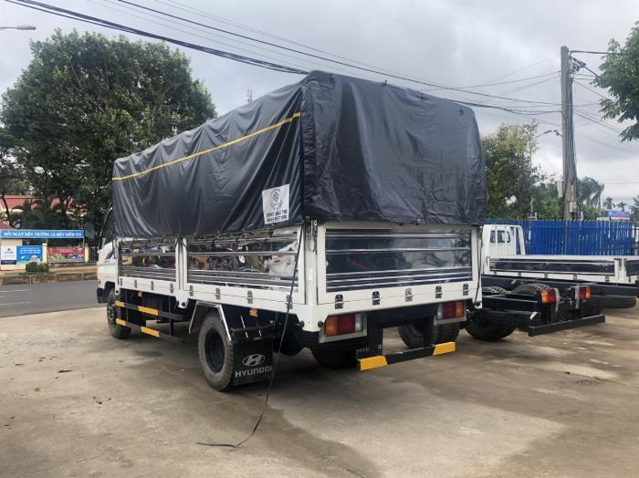 Giá xe tải Hyundai New Mighty 75S thùng mui bạt 3,5 tấn bảo hành 5 năm 9