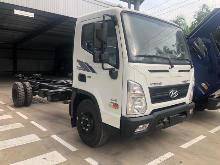 Giá xe tải Hyundai New Mighty 75S thùng mui bạt 3,5 tấn bảo hành 5 năm 21