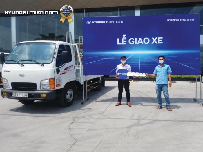 Giá xe tải Hyundai New Mighty 75S thùng mui bạt 3,5 tấn bảo hành 5 năm 15