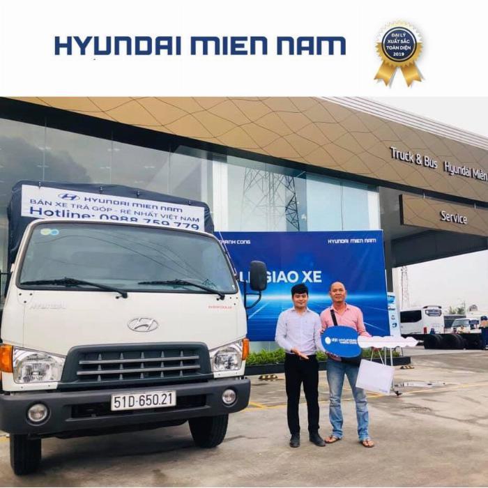 Giá xe tải Hyundai New Mighty 75S thùng mui bạt 3,5 tấn bảo hành 5 năm 16