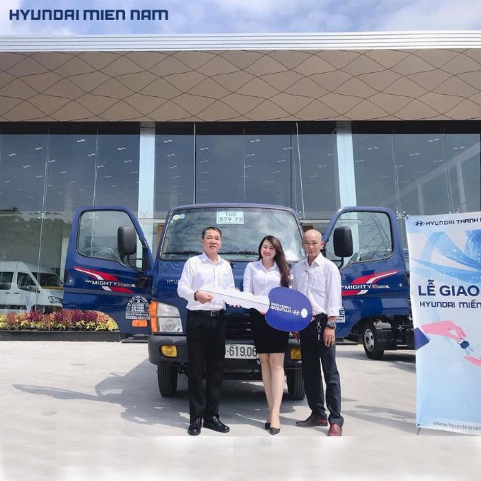 Giá xe tải Hyundai New Mighty 75S thùng mui bạt 3,5 tấn bảo hành 5 năm 18