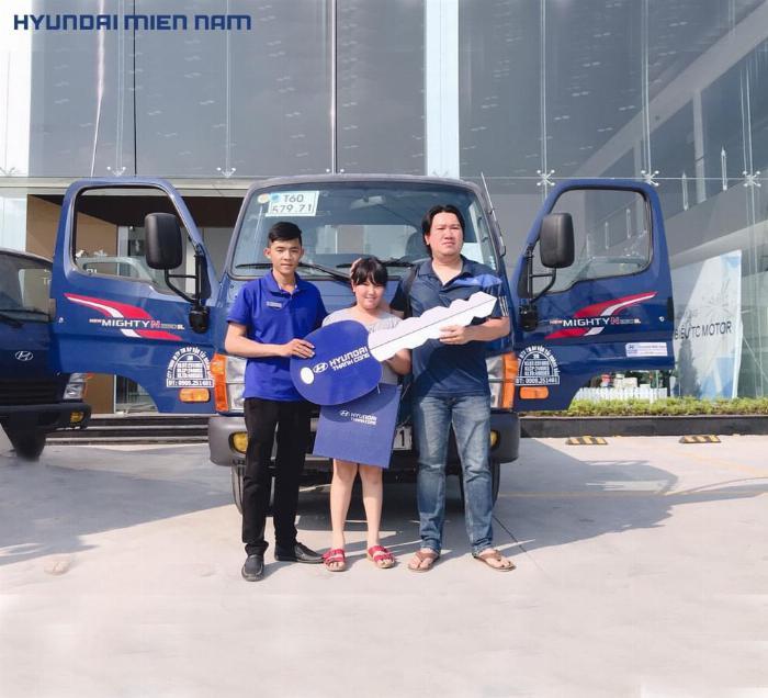 Giá xe tải Hyundai New Mighty 75S thùng mui bạt 3,5 tấn bảo hành 5 năm 26