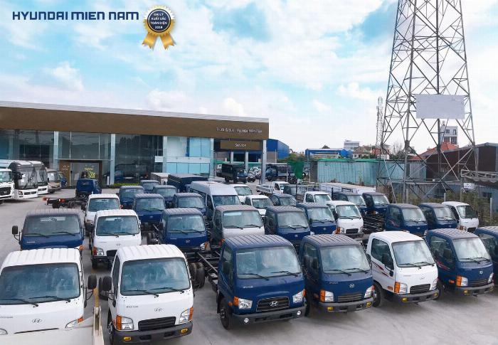 Giá xe tải Hyundai New Mighty 75S thùng mui bạt 3,5 tấn bảo hành 5 năm 25