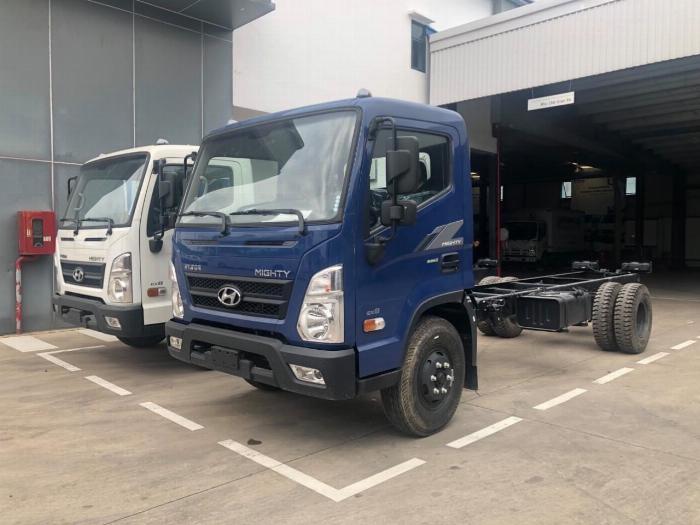 Giá xe tải Hyundai New Mighty 75S thùng mui bạt 3,5 tấn bảo hành 5 năm 22