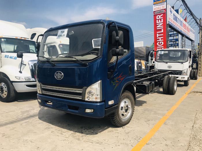 Xe tải faw 7.3 tấn máy hyundai nhập khẩu ga cơ   Khuyến mãi tháng 5